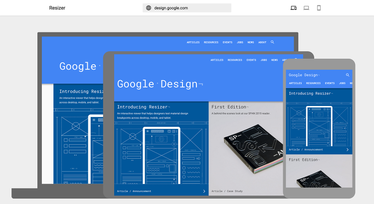 Resizer   Google Design