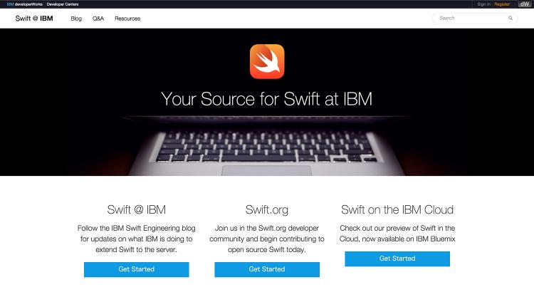 swift IBM dev